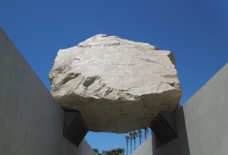 levitated Mass rock LACMA